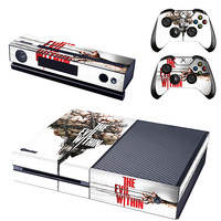 The evil within console xbox one skin sticker
