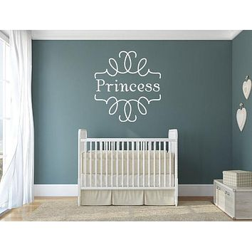 Princess Vinyl Wall Art Wall Decals