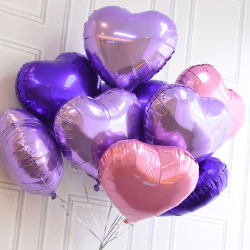 1 pc 18 inch Romantic Wedding decoration Foil Helium Balloons Birthday Wedding Balloons Anniversary Decoration Party Supplies