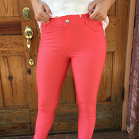 Jeggings - Coral