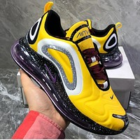 NIKE Air Max 720 Flyknit Air-permeable mesh full palm air cushion shock-absorbing sports shoes