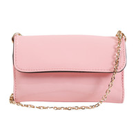 Perfectly Pink Patent Wallet Bag