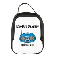 Feel The Beat Neoprene Lunch Bag