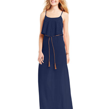 Trixxi Juniors' Popover Maxi Dress