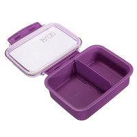 Portable Ecofriendly Microwave Plastic Bento Lunch Box Picnic Food Meal Container Storage Case 620mL