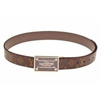 PEAPYD9 Louis Vuitton Inventeur Monogram Belt