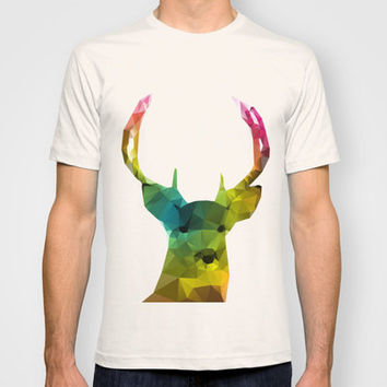 Glass Animal - Deer head T-shirt by Three Of The Possessed