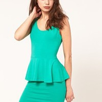 ASOS | ASOS Dress With Peplum at ASOS
