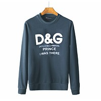 D&G Fashion Women Men Print Letters SweaterShirt