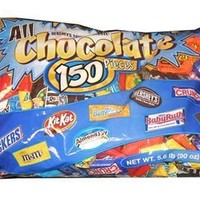 Hershey's All Chocolate Pieces, 150 Pcs, 90 Ounce Bag