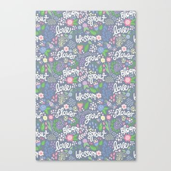 How Does Your Garden Grow Canvas Print by Noonday Design | Society6