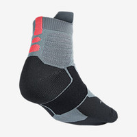 The Nike Hyper Elite High Quarter Basketball Socks.