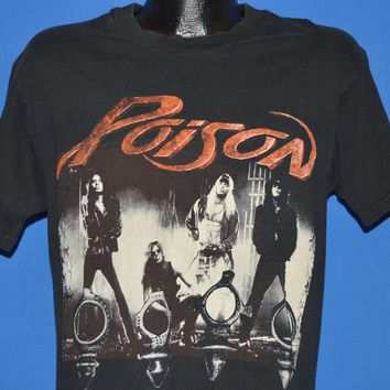 90s Poison Native Tongue World Tour 1993 t-shirt Medium