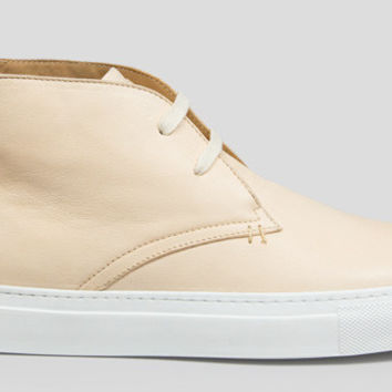The Royale Chukka - Natural // White Sole
