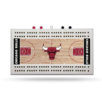 CHICAGO BULLS FIELD CRIBBAGE BOARD