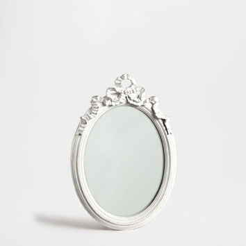 White oval antique-finish mirror - Mirrors - Decoration | Zara Home United Kingdom