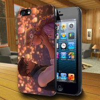 Rapunzel and Flynn Tangled - Print on Hard Cover For iPhone 4/4S and iPhone 5 Case - Please Leave Message For Device And Colour Case