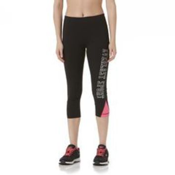 Women's Cropped Athletic Leggings - Kmart
