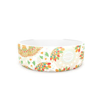 "Miranda Mol ""Bohemian Bright"" Geometric Multicolor Pet Bowl"
