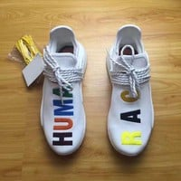PHARRELL WILLIAMS Human Race X NMD Birthday Real Boost Top Quality With Original Box