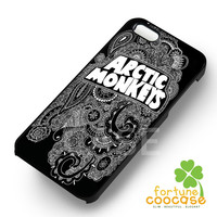 Arctic Monkeys art paisley -5dh for iPhone 4/4S/5/5S/5C/6/ 6+,samsung S3/S4/S5/S6 Regular/S6 Edge,samsung note 3/4