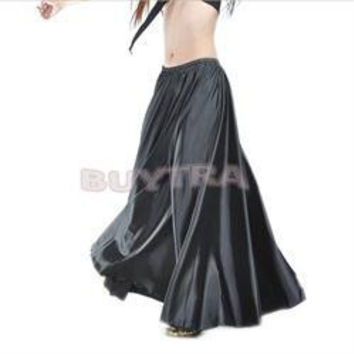 10 Colors Belly Dance Skirt for Women Belly Dancing Costume Gypsy Skirts SM6