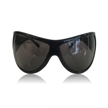 Givenchy Large Black Wrap Sunglasses