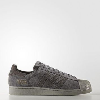 Adidas Superstar Suede Grey Casual Running Shoes