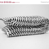 ON SALE Chevron Hot Sock, Fleece and Cotton Heating Pad or Cooling Pad, gifts under 20, vegan reusable hot cold pack, aromatherapy, post pa