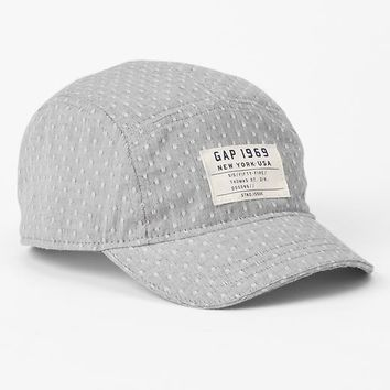 Dobby Dot Five Panel Hat