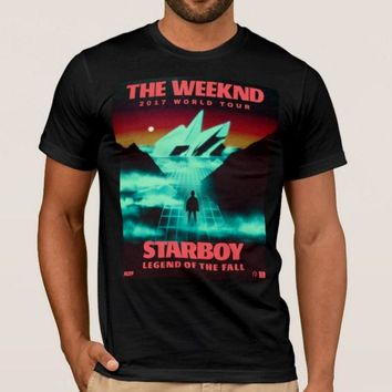 THE WEEKND STARBOY TOUR  LEGEND OF THE FALL TEE