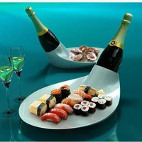 Classy Cooler Platters - Champagne Dish by EUN Design Serves Up the Perfect Plate of Apps & Booze (GALLERY)