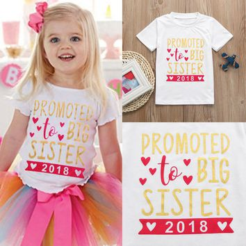 """Promoted To Big Sister 2018"" 2PC Outfit"