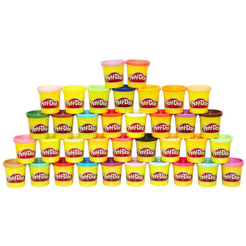 Play Doh Mega Pack (36 Cans) Frustration-Free Packaging