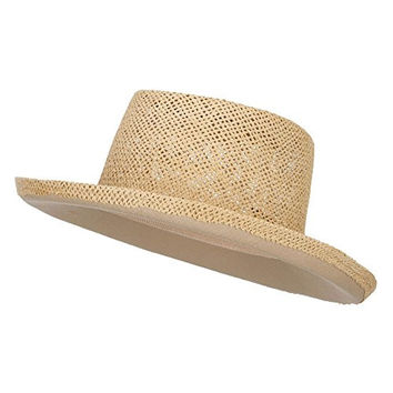 Gambler Shape Toyo Hat - Natural OSFM