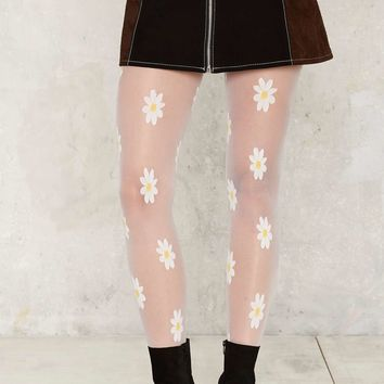Daisy for Days Sheer Tights