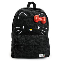Vans Hello Kitty Blueprint Black Backpack at Zumiez : PDP
