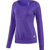 adidas Women's Twist Long Sleeve Crew Shirt