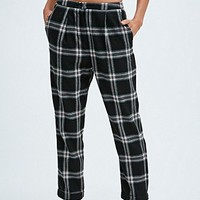 Cooperative Skinny Check Trousers in Black - Urban Outfitters