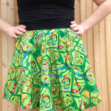Ninja turtles skirt