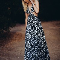 Blackbird Cutout Maxi