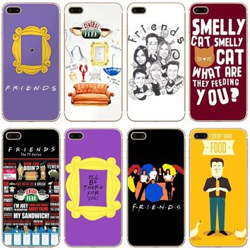 G505 Friends Funny Tv Show Transparent Hard Thin Case Cover For Apple iPhone XR XS Max 4 4S 5 5S SE 5C 6 6S 7 8 X Plus
