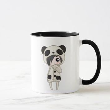 Kawaii Panda Girl Mug