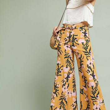 Palazzo Belted Pants