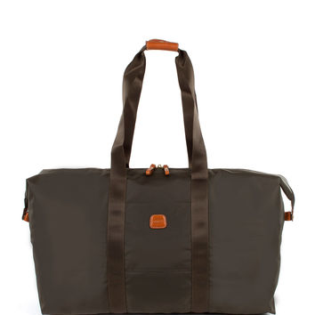 "Black 22"" Folding Duffel Bag - Bric's"