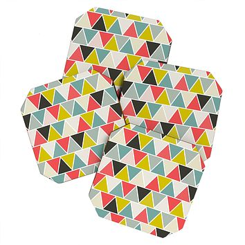 Heather Dutton Triangulum Coaster Set