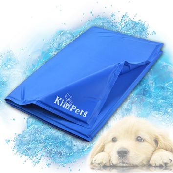 Cool Pet Cool Ice Pad Teddy Mattress Mat Small And Large Dogs Cat Cage Cushion Summer Keep Cool Bed Kimpets