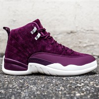 AIR JORDAN 12 - BORDEAUX/SAIL/METALLIC SILVER