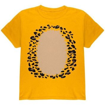 CREYCY8 Halloween Leopard Costume Youth T Shirt