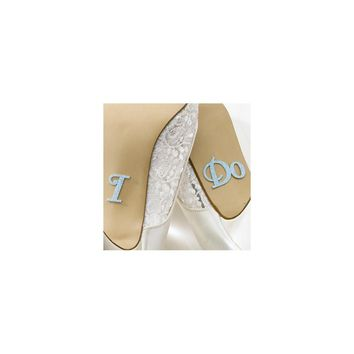 I Do Shoe Stickers - Perfect Wedding Gift